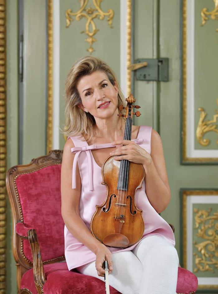 Anne Sophie Mutter, violin
